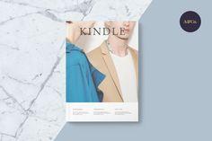 Kindle Magazine • Available here → https://creativemarket.com/allyandco/654388-Kindle-Magazine?u=pxcr