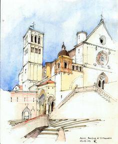 Basilica di S. Francesco, Assisi | by Maarten Ruijters