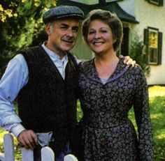 Alec and Janet from Road to Avonlea. Honestly they made the best married couple!