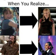 Oh my gods! I never noticed that! I think I just died a little inside! And I have seen both movies and I never noticed!