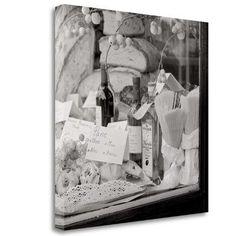 Tangletown Fine Art 'Pane e Vino - 1' by Alan Blaustein Graphic Art on Wrapped Canvas