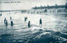 Constanta - bathing in the Black Sea Important People, Black Sea, 1920s, Bathing, Louvre, Forget, Memories, Beach, Travel