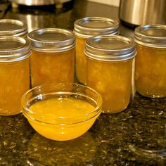 I've always been a big fan of tropical flavors married to the fruity heat of Habanero chiles, so after some experimentation I came up with this recipe for a sweet and tasty jam with a gentle but pronounced finish heat. Mango Habanero Jam Recipe, Habanero Jelly, Mango Jam, Jelly Recipes, Jam Recipes, Canning Recipes, Relish Recipes, Canning Tips, Cooker Recipes