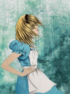 Alice in Wonderland illustration #art