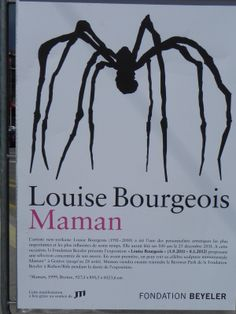 """Louise Bourgeois - 1911-2010 - Sculptrice française, auteure d'une série d'araignées monumentales """"Maman"""" en hommage à sa mère, tisserande, restauratrice de tapisseries d'art."""
