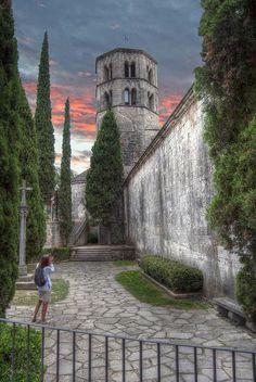 Monasteri de Sant Pere de Galligans. ( Girona ) Catalonia