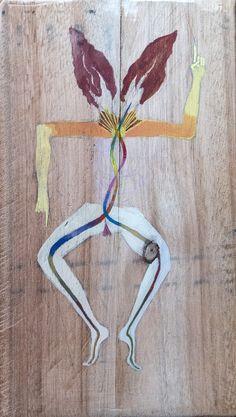 Oshumaré - de la serie danza - Mariela Nussembaum 2016
