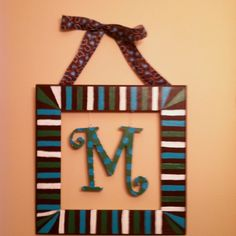 Melissa's housewarming gift by me:)