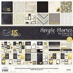 Simple Stories The Story of Us Paper Pad 12 x 12 >>> Check out this great product.Note:It is affiliate link to Amazon.