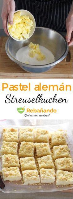 New recipe dessert pastry 63 ideas German Desserts, Easy Desserts, Dessert Recipes, German Baking, Austrian Recipes, Good Food, Yummy Food, Yummy Cakes, No Bake Cake