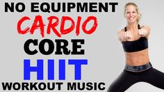 Cardio and Abs Fat Burning HIIT Workout, No Equipment, Fat Burning Workout - 26 min