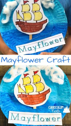 Thanksgiving Mayflower Craft