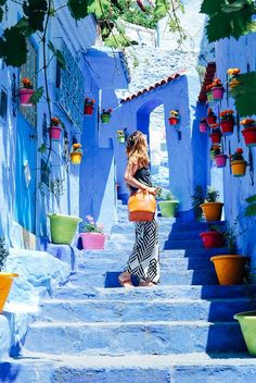The Most Beautiful Cities In The World Marrakech Morocco And - Old town morocco entirely blue