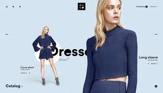 Women's Fashion Clothing & Shoes. Modern Web Design, Web Ui Design, Best Web Design, Graphic Design, Website Design Inspiration, Website Design Layout, Online Fashion Stores, Online Clothing Stores, Fashion Websites