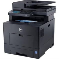 Dell Computer C2665dnf Color Printer with Scanner, Copier and Fax