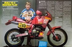 Of course there was Gaston Rahier and Eddi Hau - who came to the first WYNN's Safari in 1985 with their pair of DAKAR winning BMW's [IMG] along with. Dirt Bikes, Road Bikes, Honda Motorcycles, Cars And Motorcycles, Honda Xr400, Honda Dominator, Honda Africa Twin, Bike Pic, Honda Motors