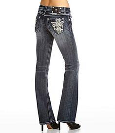 Fleur de Lys bootcut jeans from Miss Me