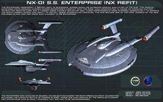 S.S. Enterprise NX-01 (NX Refit)