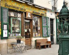 Shakespeare and Company- Paris, France. I wanna go so bad!!
