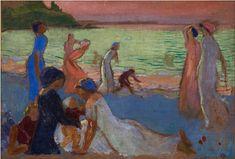 Maurice Denis - Soir de septembre - 1911 - huile sur toile - 65x94cm - Brest Musée des Beaux Arts
