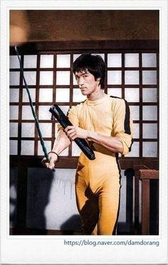 이소룡 Bruce Lee Kung Fu, Bruce Lee Games, Blue Lee, Bruce Lee Martial Arts, Game Of Death, Kung Fu Movies, Bruce Lee Photos, Jet Li, Ju Jitsu