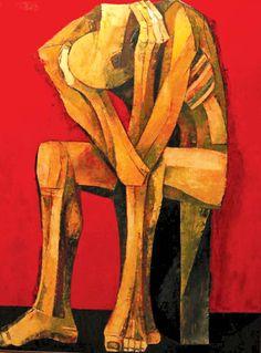 Ang Kiukok (1 de marzo de 1931, Dávao, Filipinas - 9 de mayo de 2005, Ciudad Quezón, Filipinas). Períodos: Surrealismo, Cubismo, Expresionismo