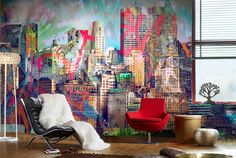Asian Interior Design will show you Top Decorating Ideas for home with Graffiti. Graffiti Art as burn in the and is always growing. Graffiti Art is used Graffiti Wallpaper, City Wallpaper, Wallpaper Decor, Photo Wallpaper, Amazing Wallpaper, Unique Wallpaper, Wallpaper Online, Custom Wallpaper, Nature Wallpaper