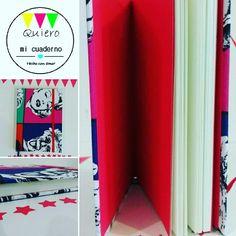 Cuadernos Marilyn con rojo