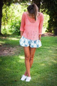 ~Twenties Girl Style~ romper+sweater