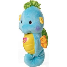 $19.99 - Sometimes baby needs a little help falling asleep. With a gentle squeeze, this cuddly friend glows and plays soft music, lullabies and soothing sounds of the ocean. After five minutes the music fades, lights dim, and baby drifts to sleep … Includes 8 lullabies and power/volume control for quiet play! Requires 3 AA batteries. Check out all our baby toys?