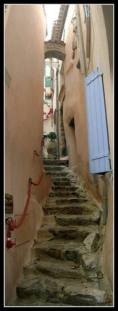 Narrow Street of Ramatuelle ~ Provence