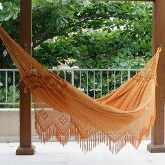 Shop for Cotton 'Belem Sun' Hammock (Brazil). Get free delivery at Overstock.com - Your Online Garden