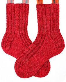 """...dieses Muster sieht nun, nach einer kleinen Änderung meinerseits, auf diesem Strang ganz hervorragend aus.       Wolle: Socks That Rock """"..."""