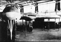 Messerschmitt Me 329 (Zerstorer) - Nazi Germany (1946)    Developed along the lines of heavy fighter and ground attack aircraft, the Messerschmitt Me 329 succeeded in only reaching the mockup stage before the end of World War 2. #jetfighter