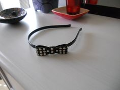 Black studded headband