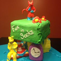 Happy Birthday Dr. Seuss!  Hope the Reader's at Rivermont elementary enjoyed.