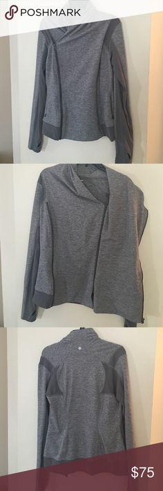 Lululemon jacket Lululemon double zip jacket. The tag has been removed so I'm not 100% sure of the size but I believe it's a 10. lululemon athletica Jackets & Coats