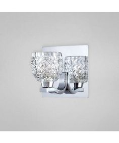 Eurofase Lighting 25727 Wave 5 Inch Wall Sconce $48.00