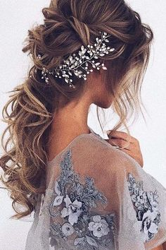 30 Wedding Hairstyles For Long Hair From Ulyana Aster ❤️ See more: http://www.weddingforward.com/wedding-hairstyle-from-ulyana-aster/ #wedding