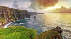 Ireland: Cliffs of Moher (one of the most beautiful places on earth).