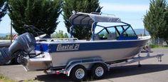 Welded Aluminum Outboard Jet Boats - Rogue Jet Coastal Series