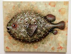"""Spiral Lights"" Art Print on Wood by Jason Limon"