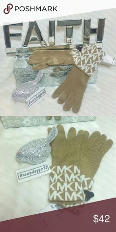 Michael Kors gloves/mittens NWT 🌟🌟Trusted Seller🌟🌟Suggested User🌟🌟                💯100%AUTHENTIC 💯   Brand new with tags   Michael Kors chic and classy gloves! Add these beauties to your fall/winter collection or give them as a thoughtful gift to someone you care about!  🎈check out my closet for more MK accessories🎈   💖Shop with confidence💖💖 🎉🎊Suggested User🎊🎉 📮💌Same day shipping📮💌 5🌟🌟🌟🌟🌟 star rated closet 👍👍Top seller👍👍 Michael Kors Accessories Gloves & Mittens