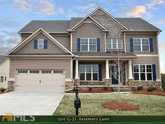 21G Fairways Ln, Jefferson, GA 30549 - ***NEW CONSTRUCTION home! JAMESON Plan -5BDRM/4BATH w Media Room! Across the street from the 2nd GREEN and POND at TRADITIONS of BRASELTON! Welcoming front craftsman style elevations.http://www.hankbailey.bhhsgeorgia.com/Home/7097790/PCH/21G-Fairways-Ln-Jefferson-GA-30549