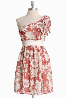 love the one shoulder. don't love the pink tone as much, but cute style