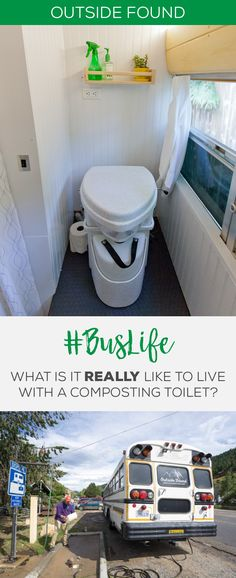 "Our real life experience using the Nature's Head composting toilet in our ""skoolie"" school bus conversion."