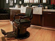 Barberías Old School en Nueva York