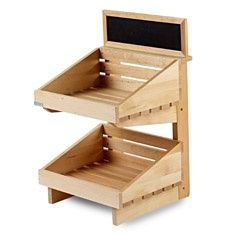 Resultado de imagem para rustic wood farmers market basic display box