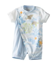 Baby Boy Ocean Fun Short Sleeve Romper | Hallmark Baby Clothes