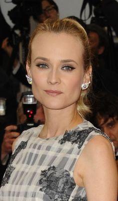 Diane Krugers high ponytail